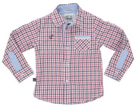 North Pole fantovska vzorčasta srajca, 98, večbarvna