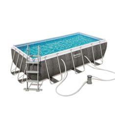 Bestway bazen 56721 Power Steel Rectangular Pool Set