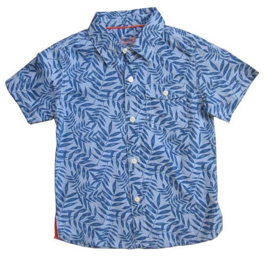 Carodel chlapčenská košeľa 92 modrá