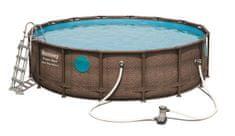 Bestway bazen Power Steel Swim Vista Series 56725, 488 x 122 cm