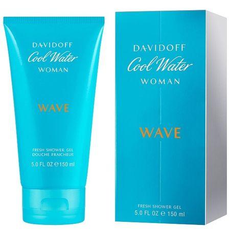 Davidoff Cool Water Wave Woman - tusfürdő 150 ml