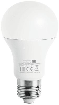 Chytrá LED žárovka Xiaomi by Philips Wi-Fi Bulb White, nastavitelný jas, vysoká svítivost