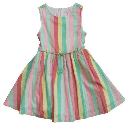 Carodel dekliška obleka, 92, večbarvna
