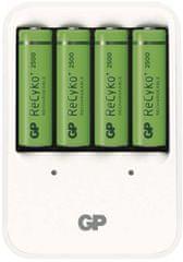 GP ładowarka do baterii PB420 + 4x GP ReCyko+ 2500 (AA)