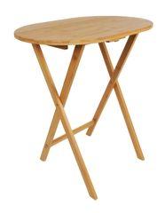TimeLife sklopivi stol za kuhinju od bambusa, 60 x 41 x 66 cm