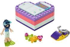 LEGO Friends 41385 Emma in poletje v obliki srca