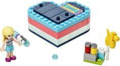 LEGO Friends 41386 Stephanie a letná krabička v tvare srdca