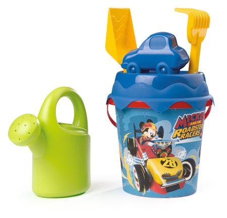 Smoby Mickey vödör locsolókannával és kiegészítőkkel, közepes