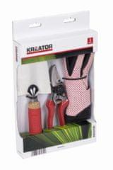 Kreator zestaw podręcznych narzędzi ogrodowych KRTGR7051, 3 szt.