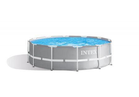 Intex Prism Frame 366 × 99 cm, szűrőbetétes szűrő, létra (26716NP)