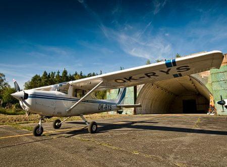 Allegria fotolet s letadlem Cessna 172 Plzeň
