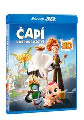 Čapí dobrodružství 3D+2D (2 disky) - Blu-ray