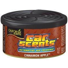 California Scents Vůně do auta Car Scents - Cinnamon Apple (skořicové jablko), sladce kořeněná vůně, výdrž 2 měsíce
