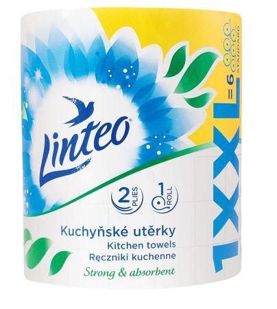 LINTEO Konyhai törlőkendő LINTEO XXL - 2 rétegű - 1 tekercs