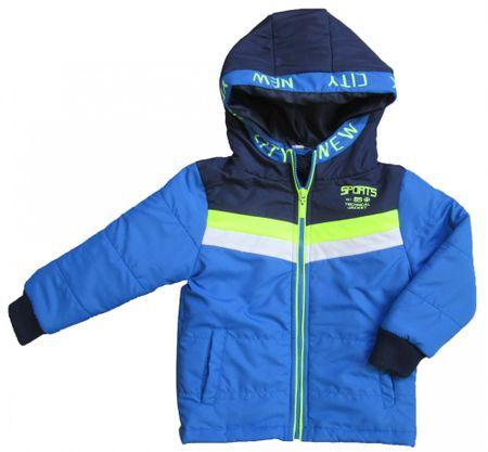 6b11d660edcc Carodel chlapčenská bunda 128 modrá