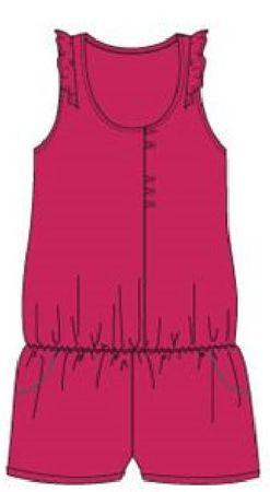 Carodel ubranko dziewczęce 128 czerwony