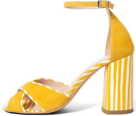 L37 női szandál Sunset 36 sárga