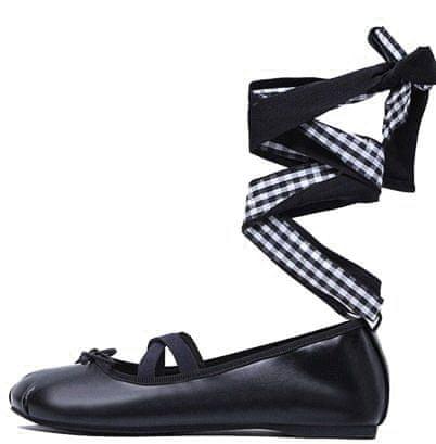 Vices dámské baleríny 37 čierna