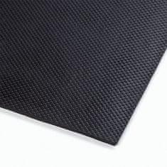 Černá gumová extra odolná průmyslová rohož Slabmat - 182 x 122 x 1,27 cm