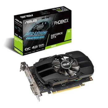 Asus grafička kartica GeForce GTX 1650 Phoenix OC, 4GB GDDR5, PCI-E 3.0