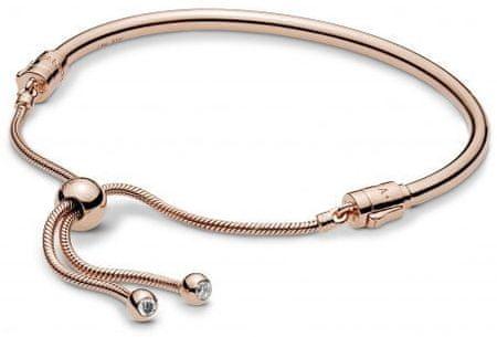 Pandora Luxus karkötő csúszó rögzítéssel 587953CZ (hossz 19 cm) ezüst 925/1000