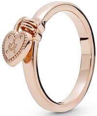 Pandora Bronz gyűrű szív medál 186571 ezüst 925/1000