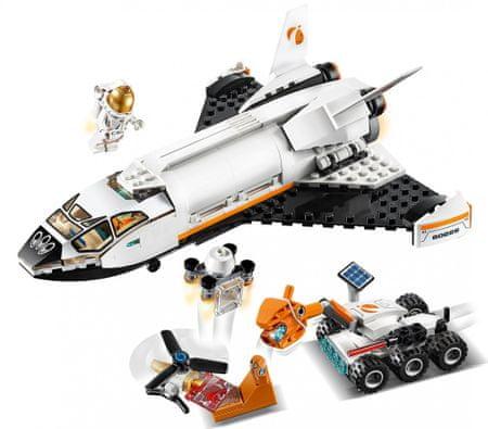LEGO City 60226 Space Shuttle Raziskovanje Marsa