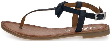 s.Oliver ženski sandali, 41, temno modri