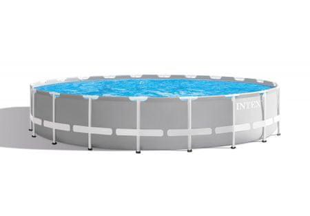 Intex bazen Prism Frame, 610 × 132 cm, s filter uloškom, s ljestvama, 26756NP