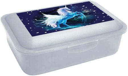 Karton P+P škatla za malico Unicorn 1