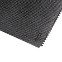 Černá gumová extra odolná modulární rohož Slabmat Carré - 91 x 91 x1,3 cm