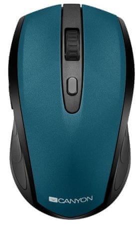 Canyon mysz komputerowa CMSW08, zielona (CNS-CMSW08G)