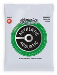 Martin Authentic Marquis 92/8 Phosphor Bronze Light Kovové struny pro akustickou kytaru