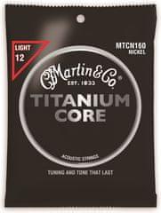 Martin Titanium Core Light Kovové struny pro akustickou kytaru