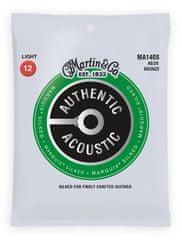 Martin Authentic Marquis 80/20 Bronze Light Kovové struny pro akustickou kytaru