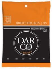 Darco 92/8 Phosphor Bronze Extra Light Kovové struny pro akustickou kytaru