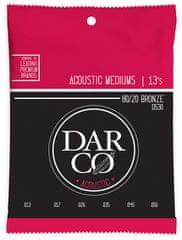 Darco 80/20 Bronze Medium Kovové struny na akustickú gitaru