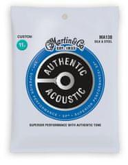 Martin Authentic SP Silk & Steel Standard Kovové struny na akustickú gitaru