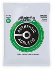 Martin Authentic Marquis 92/8 Phosphor Bronze 12-String Extra Light Struny na dvanásťstrunovú gitaru