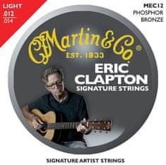 Martin Eric Clapton 92/8 Phosphor Bronze Light Kovové struny pro akustickou kytaru
