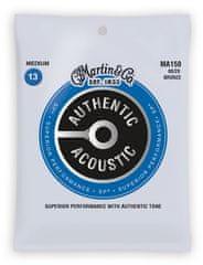 Martin Authentic SP 80/20 Bronze Medium Kovové struny na akustickú gitaru