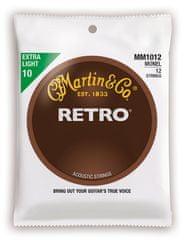 Martin Retro 12-String Extra Light Struny pro dvanáctistrunnou kytaru