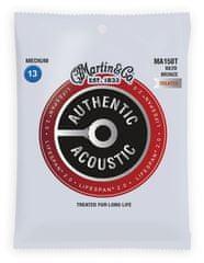 Martin Authentic Lifespan 2.0 80/20 Bronze Medium Kovové struny na akustickú gitaru