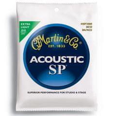 Martin SP 80/20 Bronze Extra Light Kovové struny na akustickú gitaru