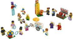LEGO City 60234 Súprava postáv - Zábavná púť