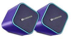Canyon reproduktory 2x2,5W, fialové (CNS-CSP203PU)