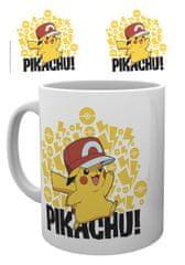 Hrnček Pokémon - Pikachu s čapicou