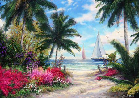 Grafika Puzzle 2000 db Chuck Pinson - Sea Breeze Trail