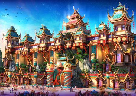 Grafika Puzzle 1500 db Fairyland China