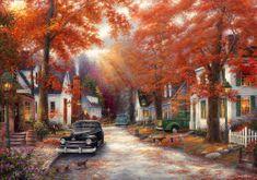 Grafika Puzzle 1500 db Chuck Pinson - A Moment on Memory Lane